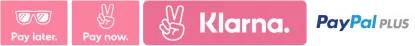 Klarna und Paypal plus Logo