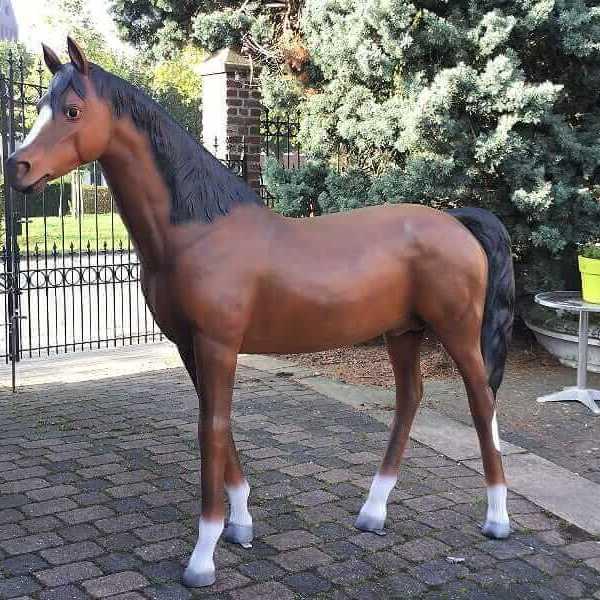 Deko Pferd araber hengst