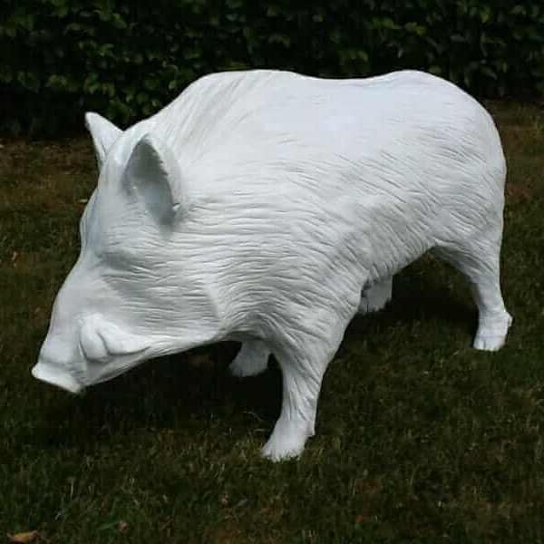 Deko Wildschwein Rohling zum Bemalen