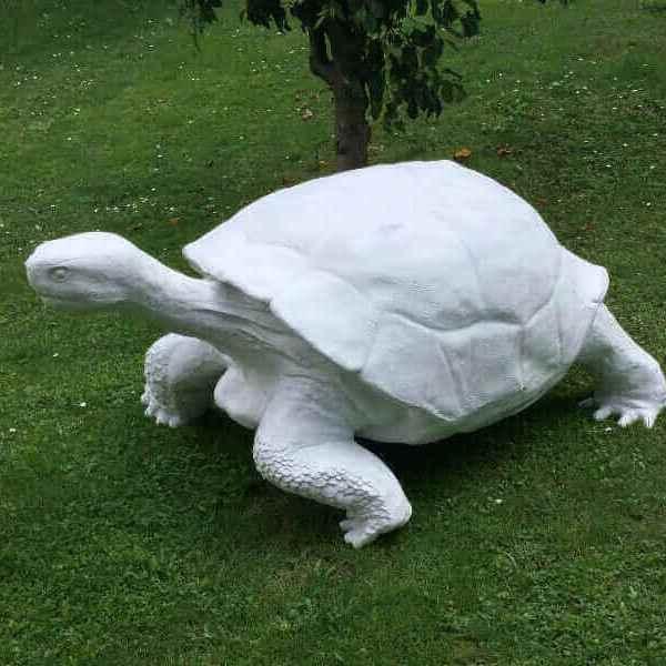 Riesen Deko Schildkröte als Rohling