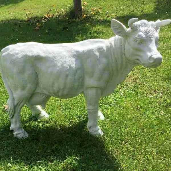 Kleine Deko Kuh als Rohling