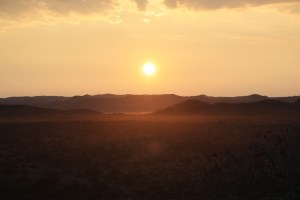 Sonnenaufgang, Namibia, Outback
