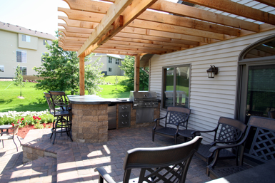 Outdoor Kitchens & Living Spaces - Tier One Landscape on Outdoor Kitchen Living Spaces id=76676