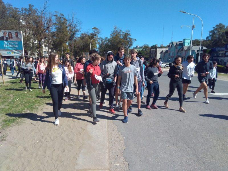Carrera en Pinamar - Colegio Tierra del Sur