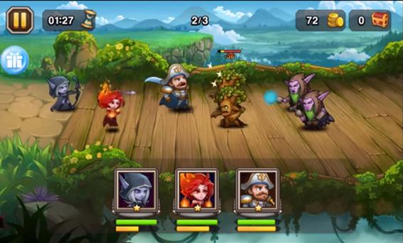 AllStar Heroes - partida