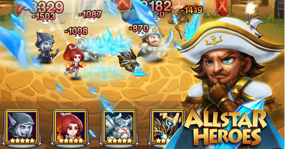 AllStar Heroes - héroes