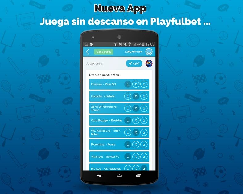 Playfulbet android