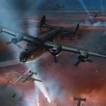 Bombardeo Nocturno en War Thunder Wallpaper