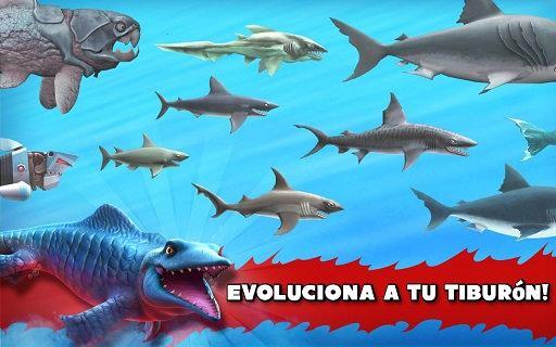 Juego de Android Tiburones