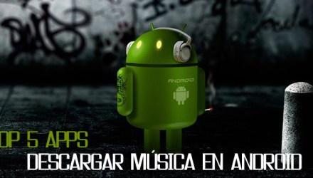 descargar música en Android