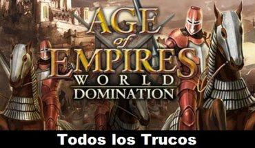 Age of Empires World Domination Todos los Trucos para Android