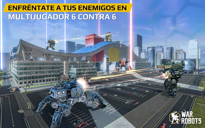 Juego Robots 3D android
