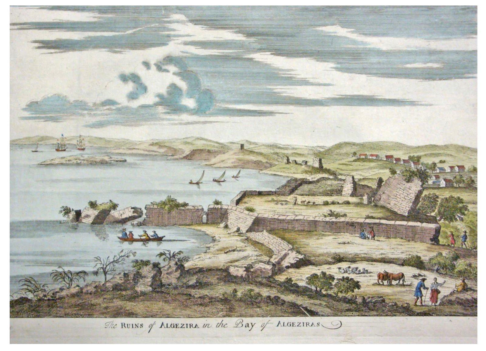 Bahía de Algeciras en 1712