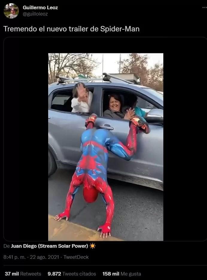 spider-man sensual cosplay santiago chile