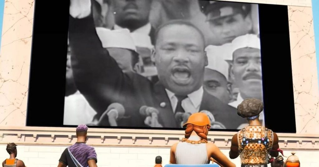 fortnite martin luther king