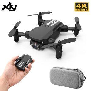 MINI DRONE XKJ 2021 CÂMARA 4K 1080P HD WIFI DOBRÁVEL