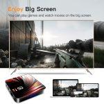 SMART TV BOX 4K H.265 2.4g 5ghz WIFI BLUETOOTH