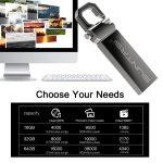 PEN DRIVE USB2.0 8,16,32,64 E 128G A PROVA D`ÁGUA
