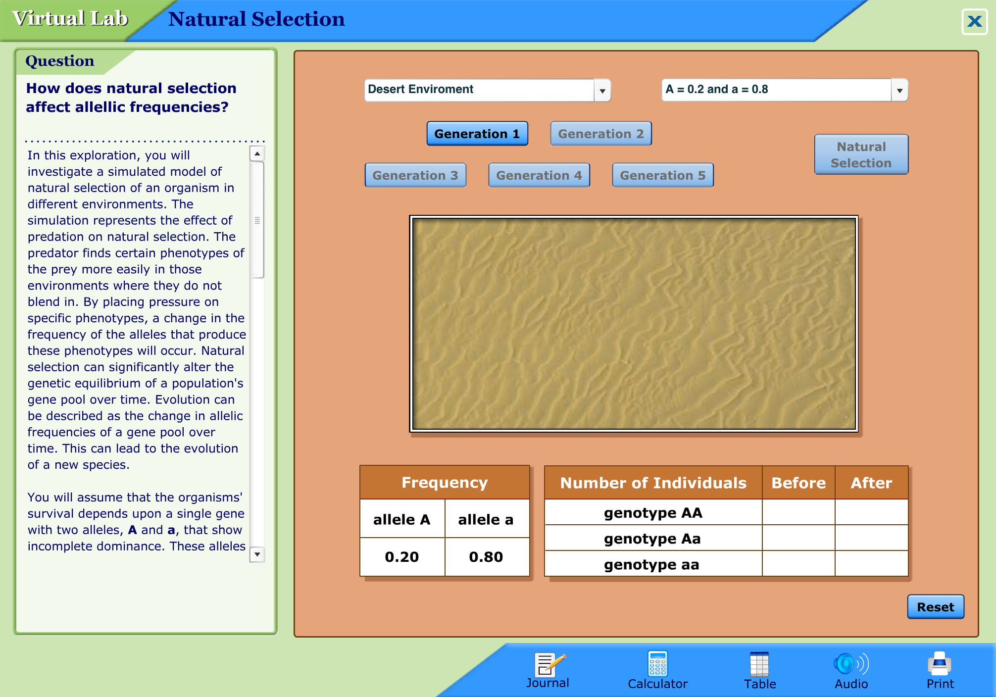 Mcgraw Hill Natural Selection Virtual Lab