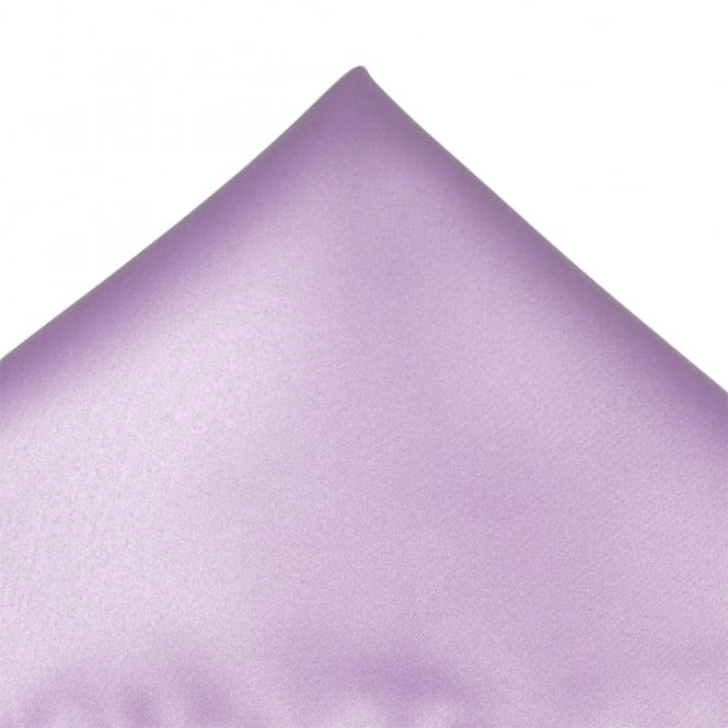 Plain Lilac Pocket Square Handkerchief From Ties Planet UK