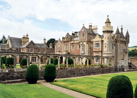 The Exquisite Home Of Sir Walter Scott Now Available As Wedding Venue