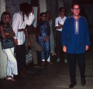 David Houston at a folk dance event in the 1960s