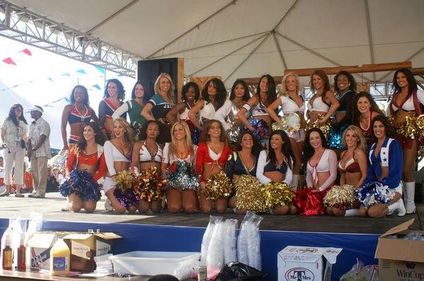 I am honored to be a part of a group of girls from the Washington Redskins Cheerleaders that have represented the team at the Pro Bowl. Once a cheerleader is selected, we meet at Brunch, celebrate the new gal and give her tips from our experiences.