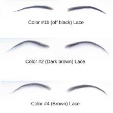 Color #1b (off black) Lace