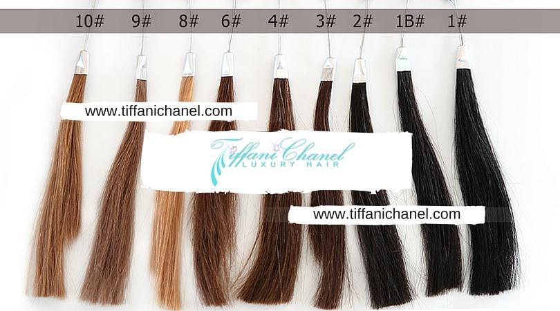 Hair Color Chart Tiffani Chanel Luxury Hair