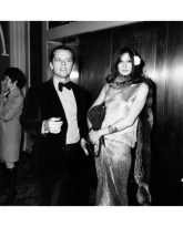 Jack Nicholson and Anjelica Huston at the Golden Globe Awards, January 1974  Frank Edwards : Getty Images
