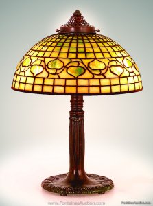 Tiffany Acorn Lamp