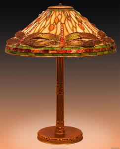 Tiffany Dragonfly Lamp Antique