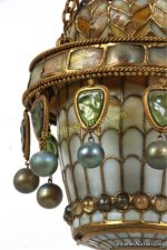 Tiffany Studios Moorish Style Hall Lantern