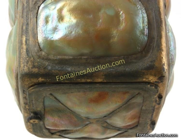 Tiffany Studios Turtleback Hall Lantern