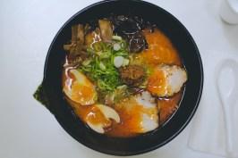 My ramen was delicious.