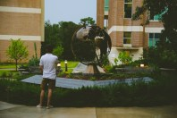 He wanted to show me his office & the campus.