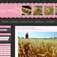 My second WordPress theme for TiffanyBee.com.