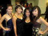 L-R: Viviane, Me, Kim, & Vy