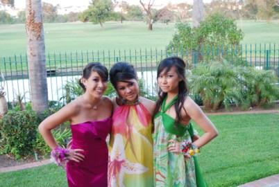L-R: Me, Kim, & Vy