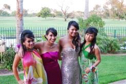 L-R: Kim, Me, Michelle, & Vy