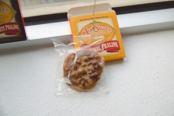 Had to get an original flavored praline!