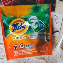 Totally needed more laundry detergent & here it is.