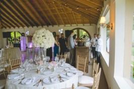 The beautiful reception.