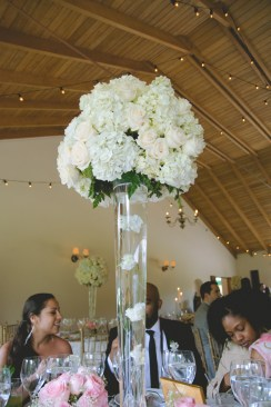 Can't get over how simple, yet beautiful this centerpiece was.