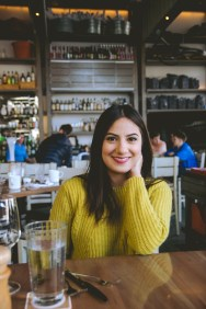 On Gaby's last day in Boston, we went to Brunch at Island Creek Oyster.