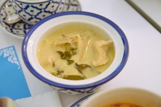 Lemongrass chicken curry.