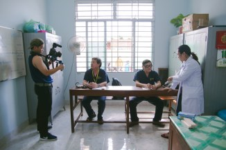Filming our doctors