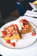 L'Avenue   Strawberry Brick Toast