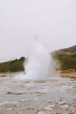 Iceland's most famous geyser