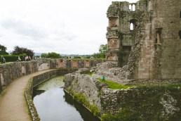 Raglan Castle's Mote